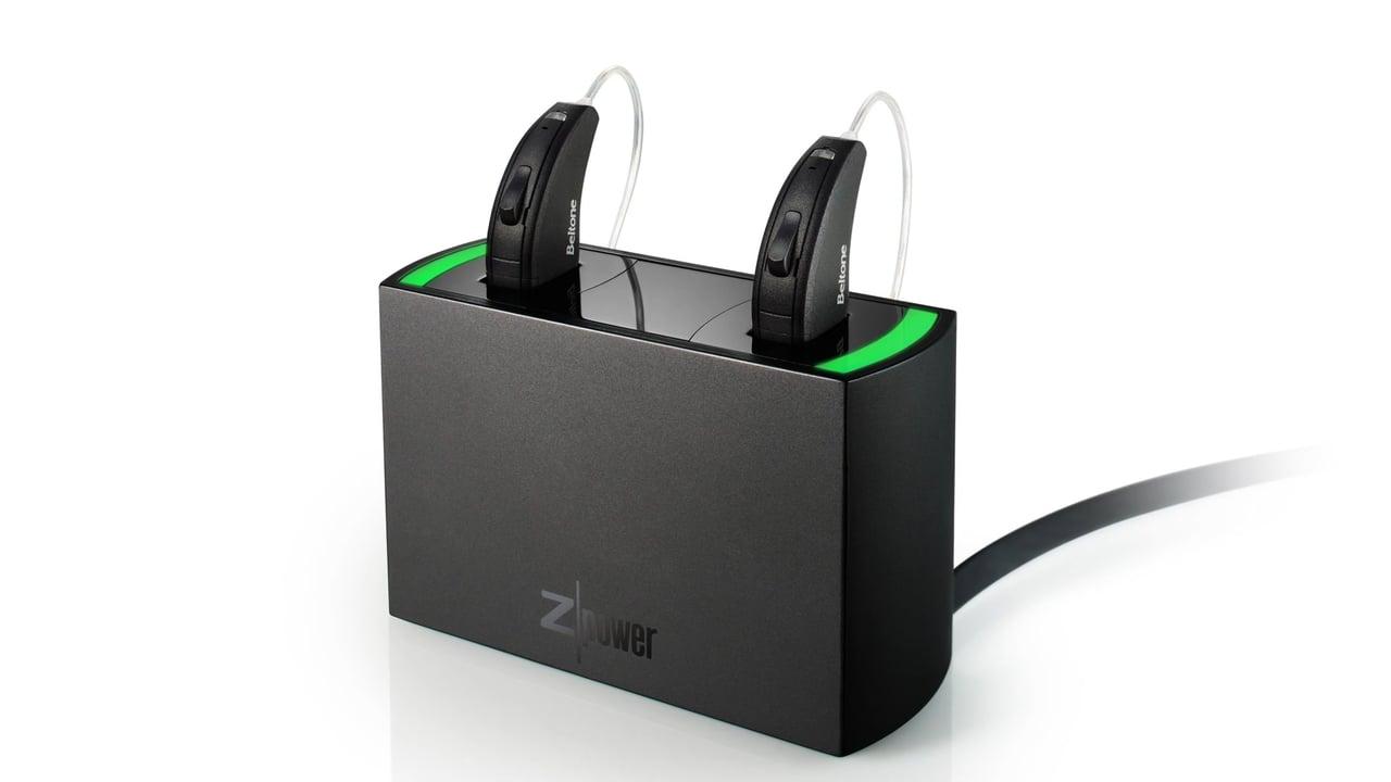 ハイブリッド充電式補聴器
